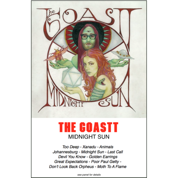 "THE GOASTT - ""Midnight Sun"" (CASS)"
