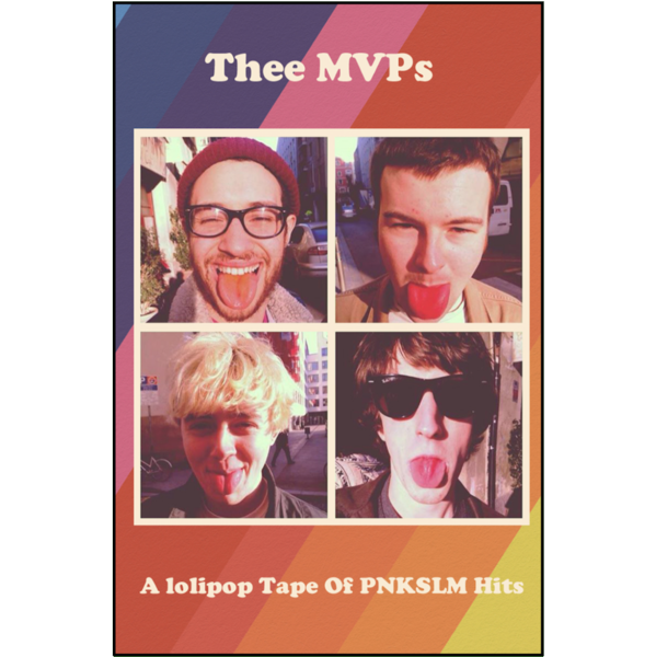 "THEE MVP's - ""Pnkslm Hits"" (CASS)"