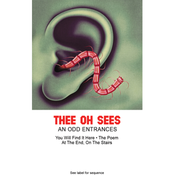 "THEE OH SEES - ""An Odd Entrances"" (CASS)"