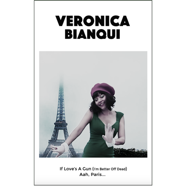 "VERONICA BIANQUI - ""If Love's A Gun"" (CASS)"