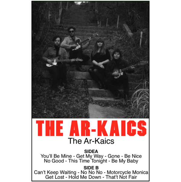 "THE AR-KAICS - ""s/t"" (CASS)"