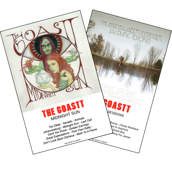 "THE GOASTT - ""Midnight Sun"" & ""Acoustic Sessions"" (BOTH TAPES)"