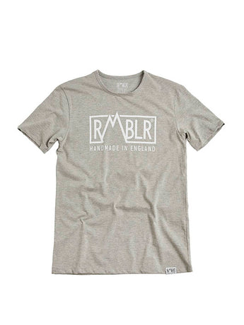 T SHIRT - BUILDED HERE - GREY
