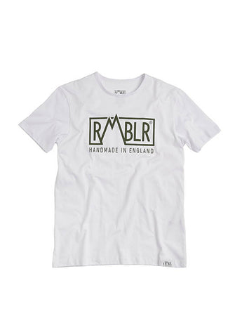 T SHIRT - BUILDED HERE - WHITE