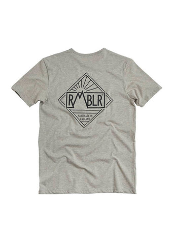 T SHIRT - DIAMOND - GREY