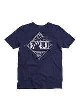 T SHIRT - DIAMOND - NAVY