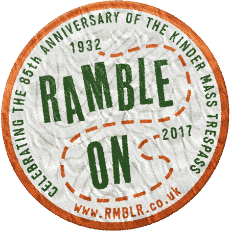 Ramble On Limited Edition Patch