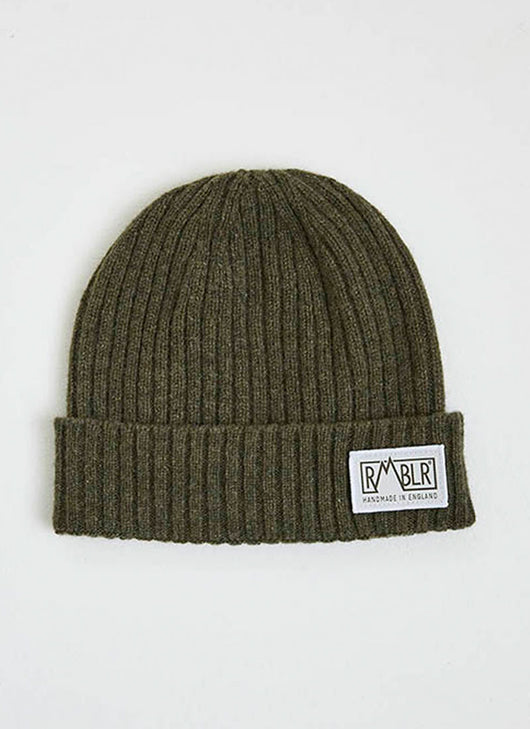 BRAY LAMBSWOOL - WOVEN PATCH - LODEN