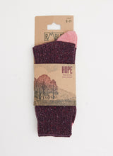 HOPE SOCK - PINOT NOIR