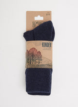 KINDER SOCK - NAVY SHEEP