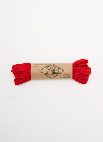 LACES 9MM FLAT - RED