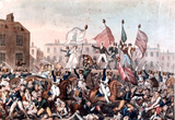 Peterloo Massacre - from Wikipedia