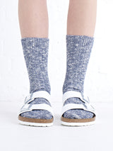 Jerusalem Sock \\ Navy Ragg