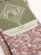 Jerusalem Sock \\ Red Ragg