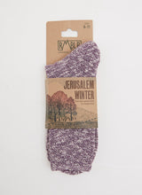 WINTER JERUSALEM SOCK - VIOLA RAGG