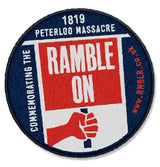 Ramble On - Peterloo Limited Edition Patch