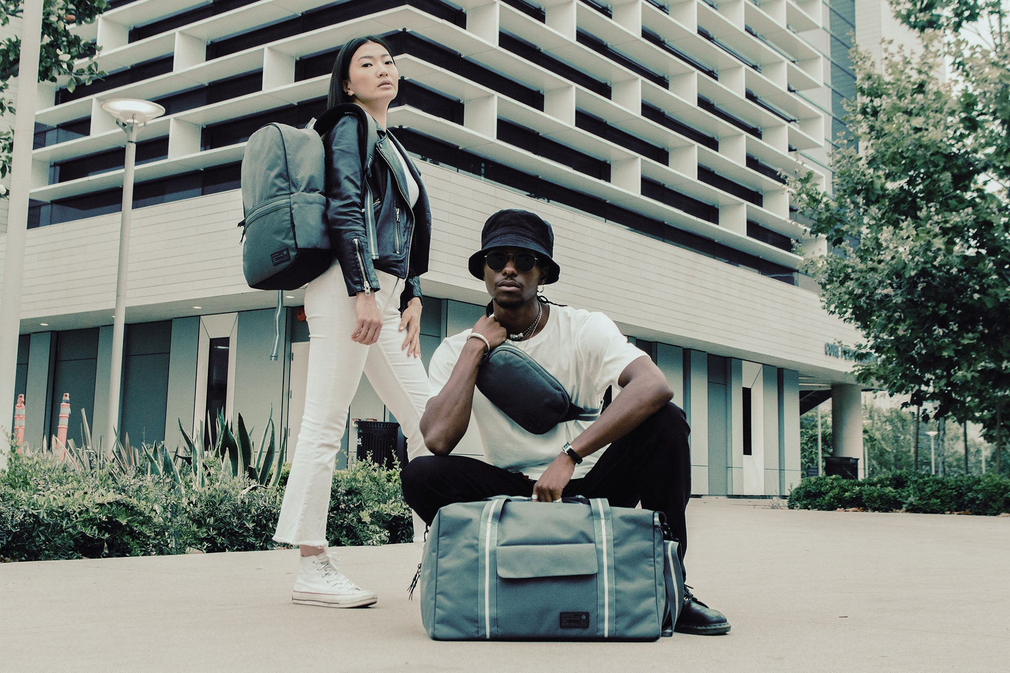 Hipsters with Evolve Bags