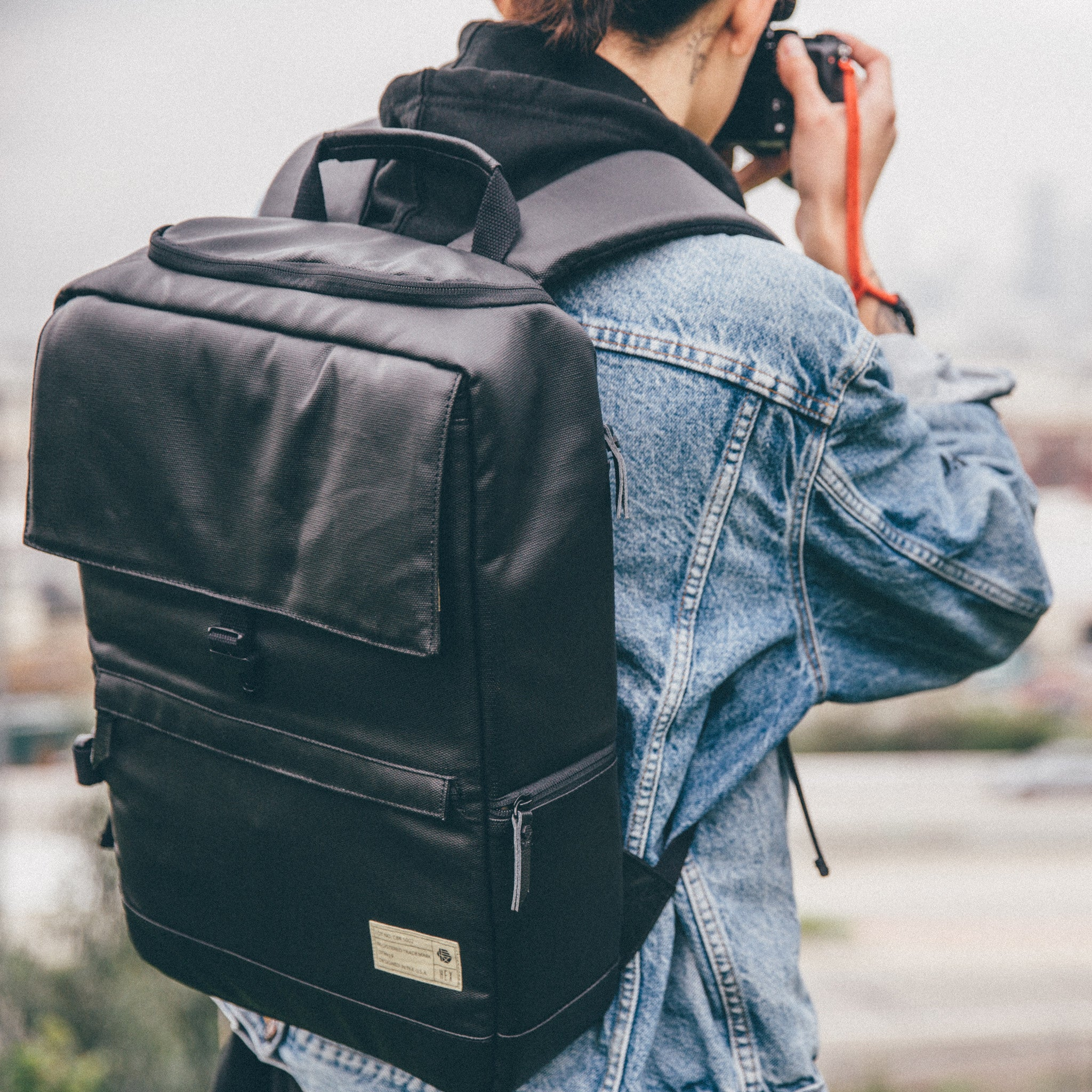 df26b86a983f ... Black Medium DSLR Backpack ...