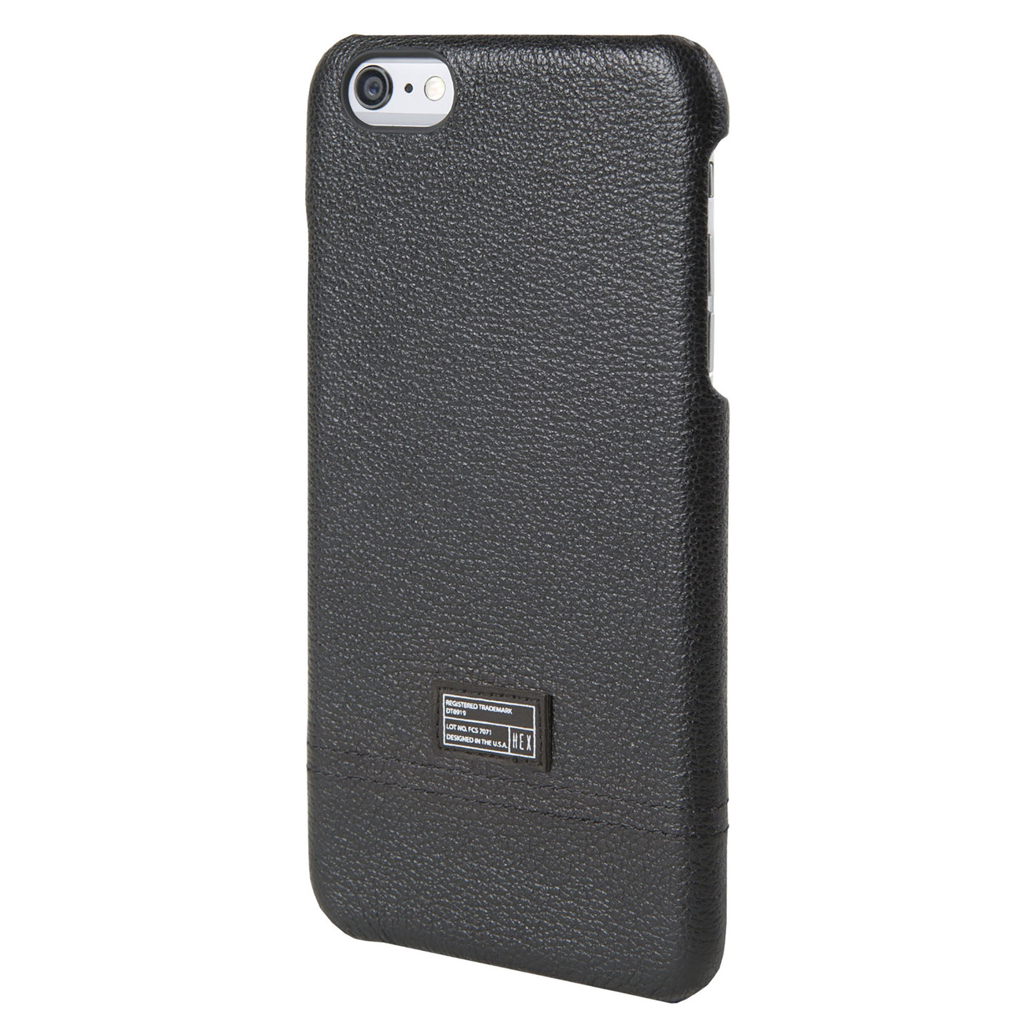 best website 50355 36dd5 Black Leather Focus Case for iPhone 6s Plus