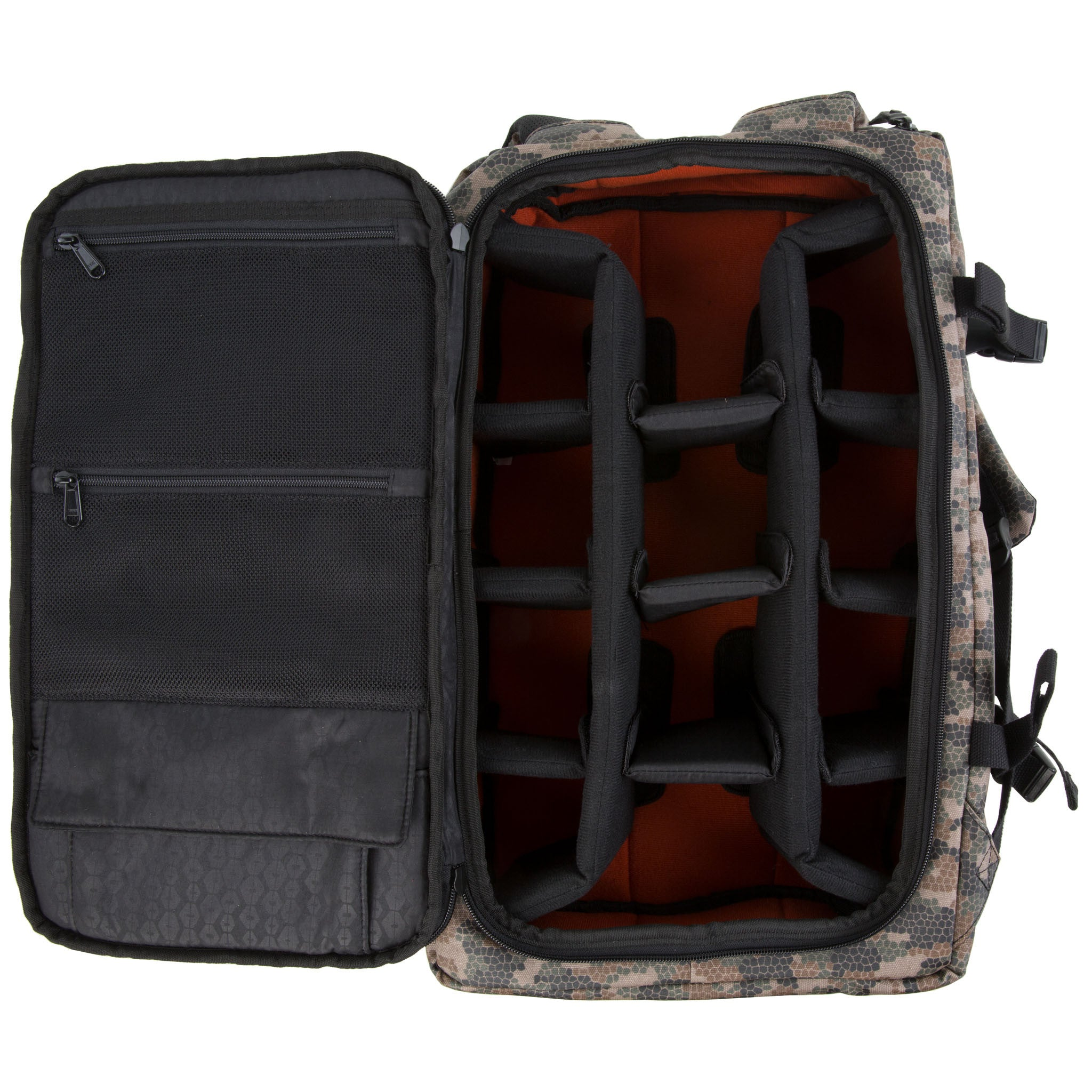 e9fab6f47eb5 ... Geo Camo Medium DSLR Backpack ...