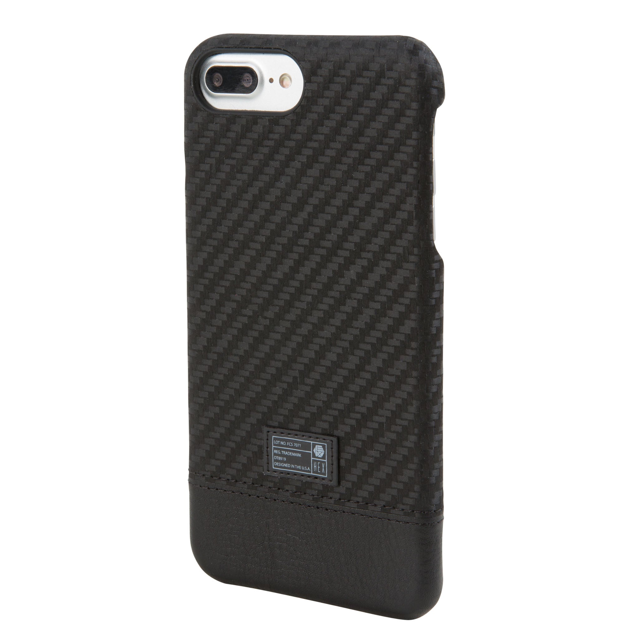 Carbon Fiber Iphone Case >> Black Carbon Fiber Focus Case For Iphone 7 8 Plus