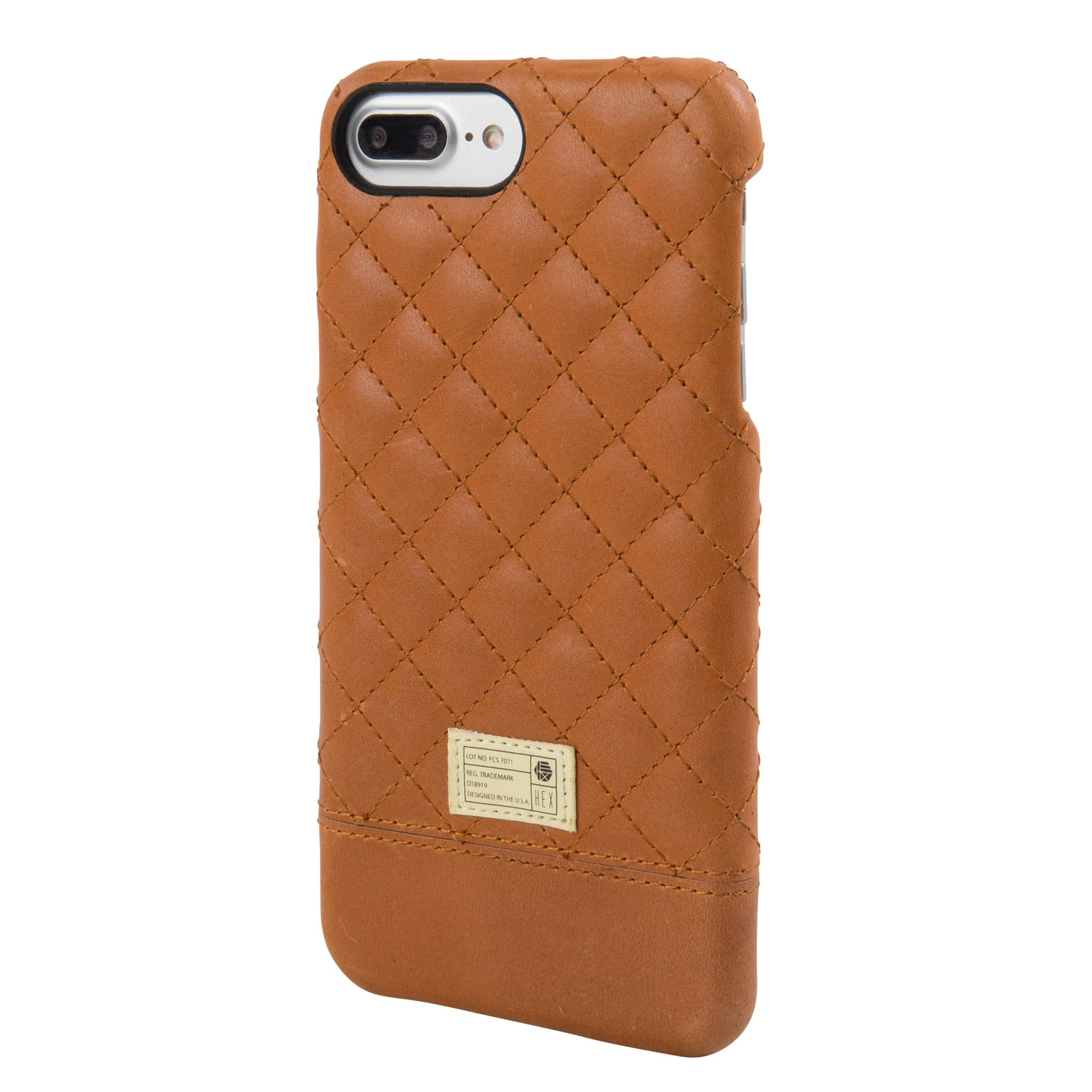 leather iphone 8 case brown