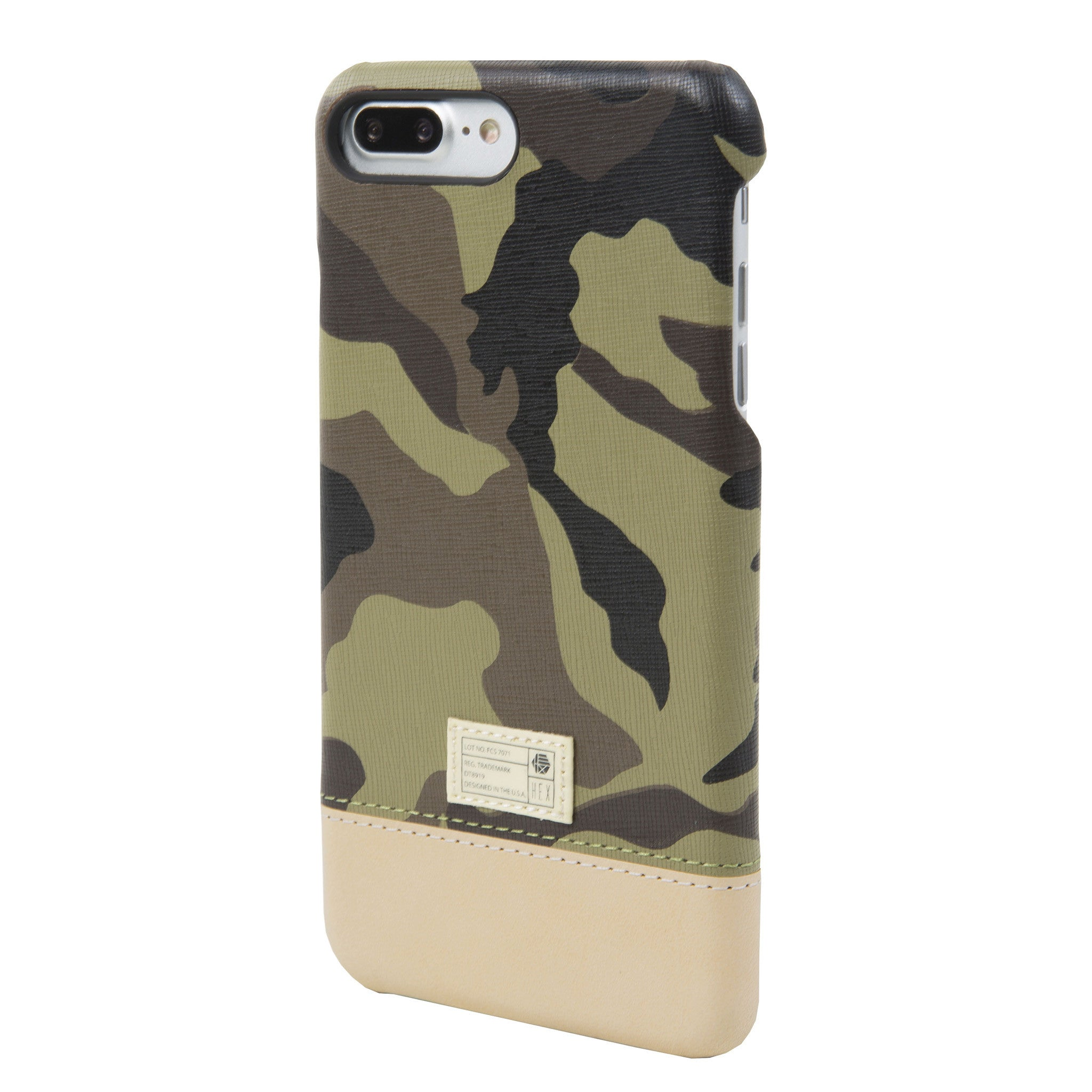 the best attitude 7bde7 21ace Camo Leather Focus Case for iPhone 7/8 Plus