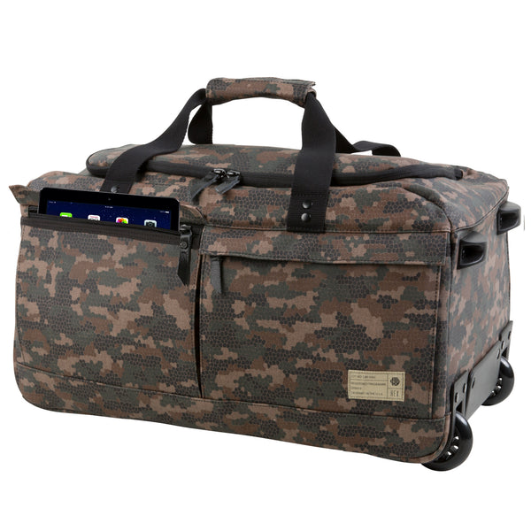 ... Calibre Geo Camo Carry On Roller 054447e9cef2d