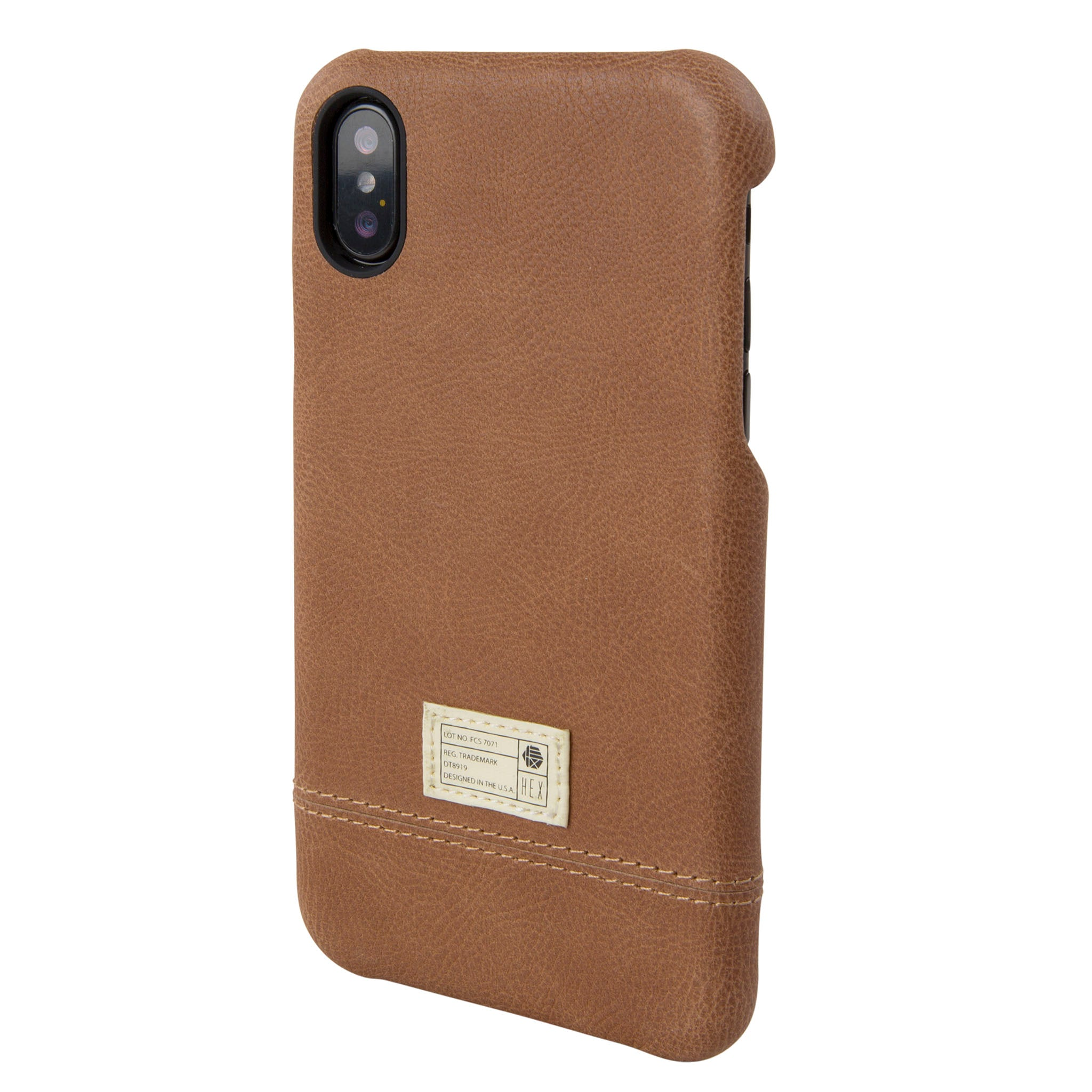 the latest 87336 d3e01 Brown Leather Focus Case for iPhone X/Xs