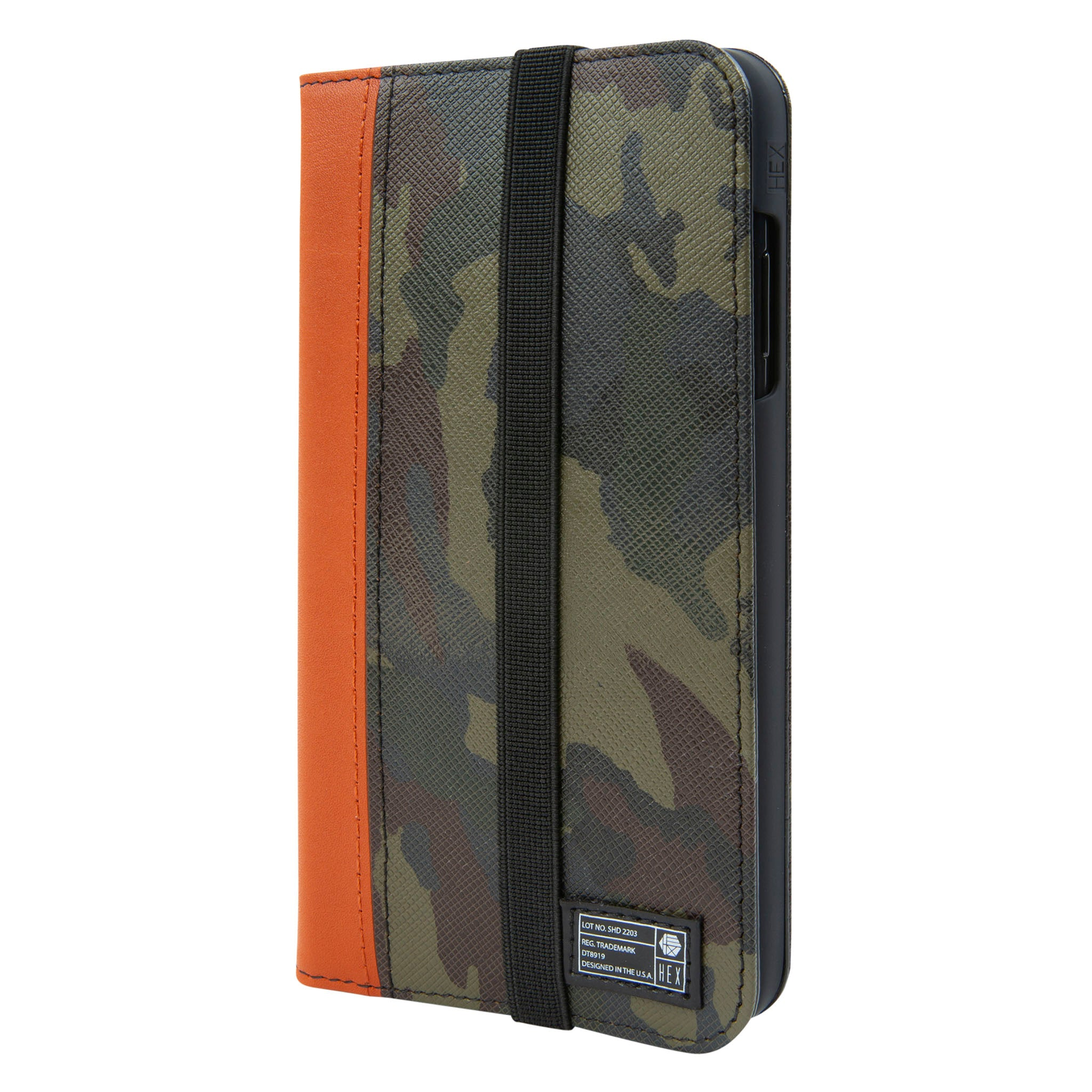 new product 5fdf5 3ab72 Camo Leather Icon Wallet for iPhone Xs Max