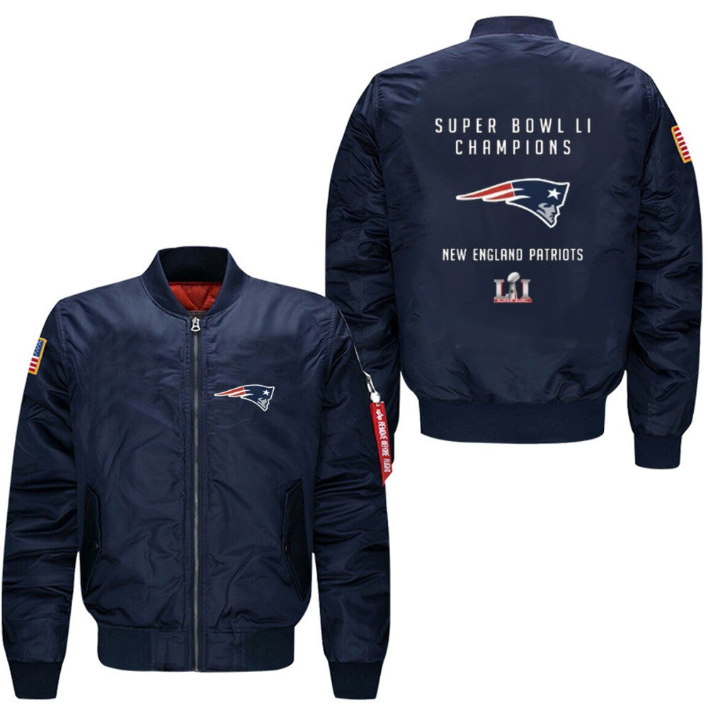 low priced 31933 3a5b0 Patriots Bomber Jacket