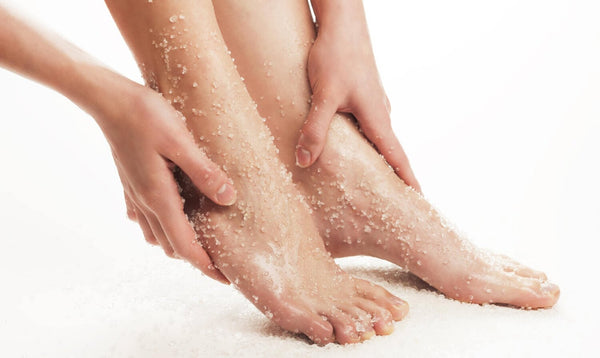 Acid-Based Exfoliating Products for the Feet: AHA & BHA Explained
