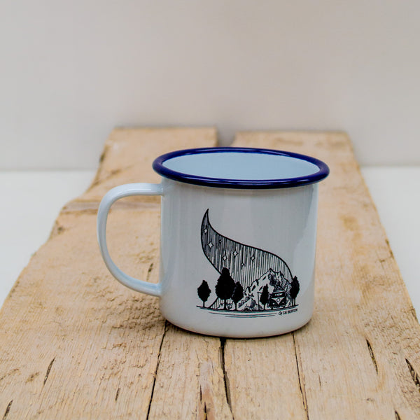 VW Campfire Enamel Mug - Adventure Series