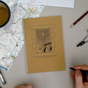 Window To Adventure A5 Sketchbook - Adventure Series