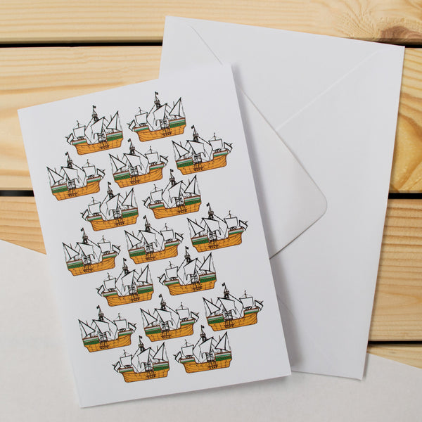The Matthew - Bristol Pattern Greetings Card
