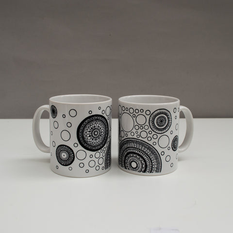 Mandalas and Spots Mug