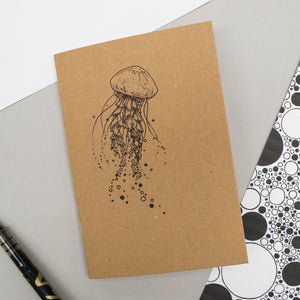 A6 Pocket Notebook - Jellyfish Design