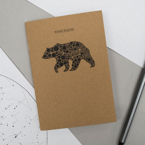 A6 Pocket Notebook - Ursa Major/The Great Bear Design