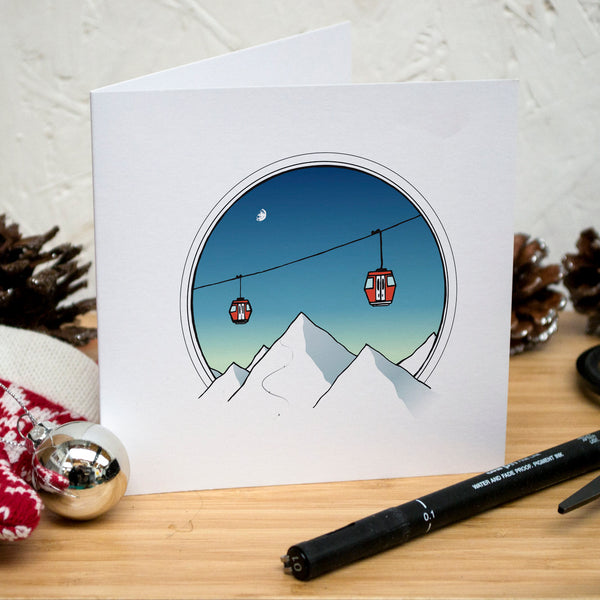 Pack of 12 Christmas Cards (6 Designs)