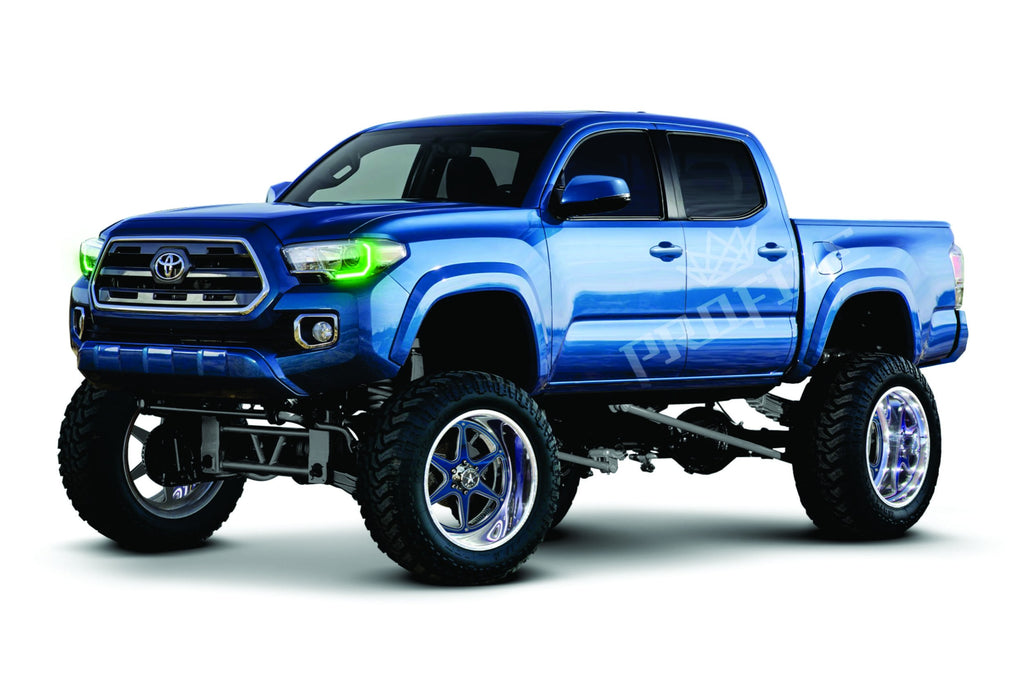 motor road toyota pro cars review trd tocoma front three trend tacoma quarter off