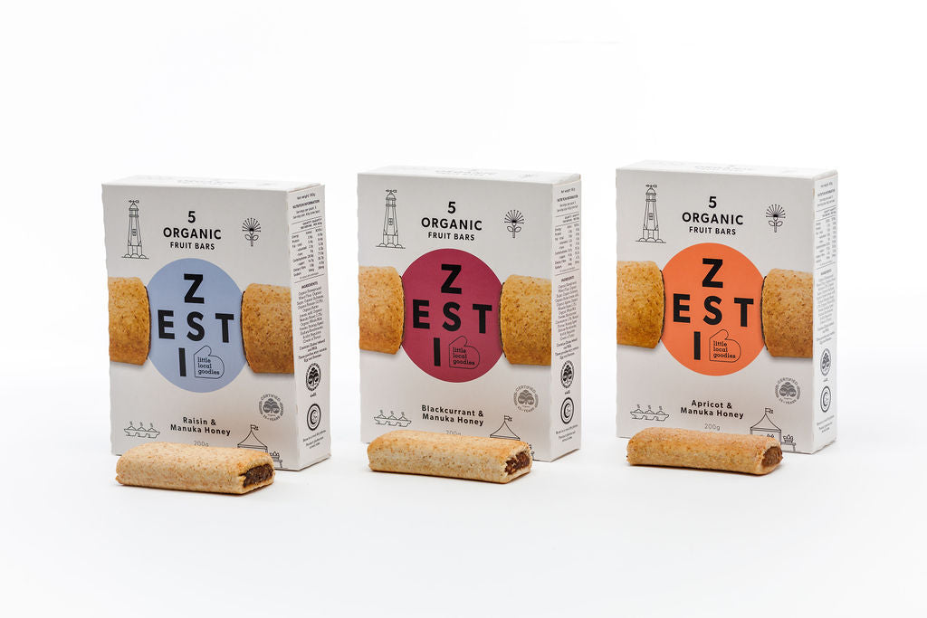 Zesti Fruit Bars Range