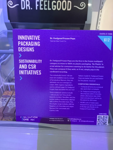 Display card sustainability innovation journey story