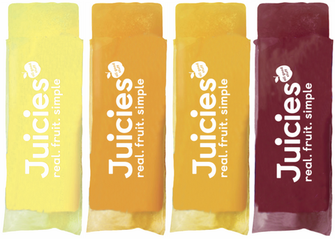 Juicies Original Frozen Bars Supermarket iceblock