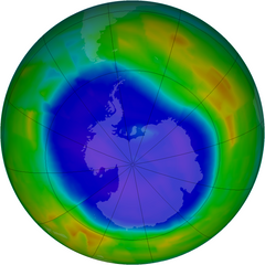 Ozone layer new zealand southern hemisphere