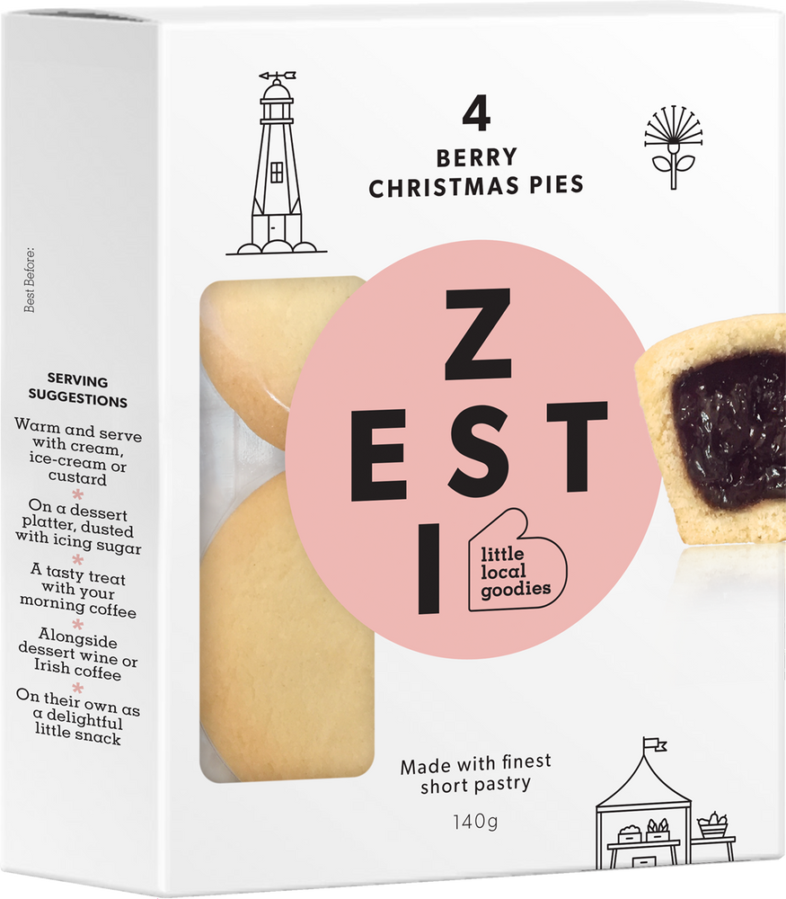 Load image into Gallery viewer, Zesti Berry Christmas Pie Pack