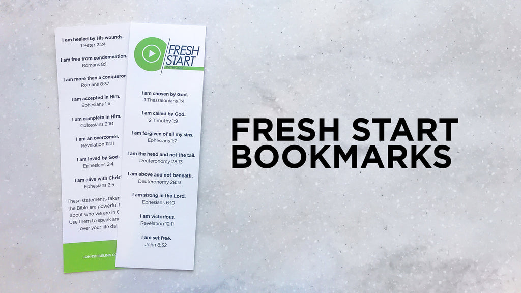 Fresh Start Bookmarks