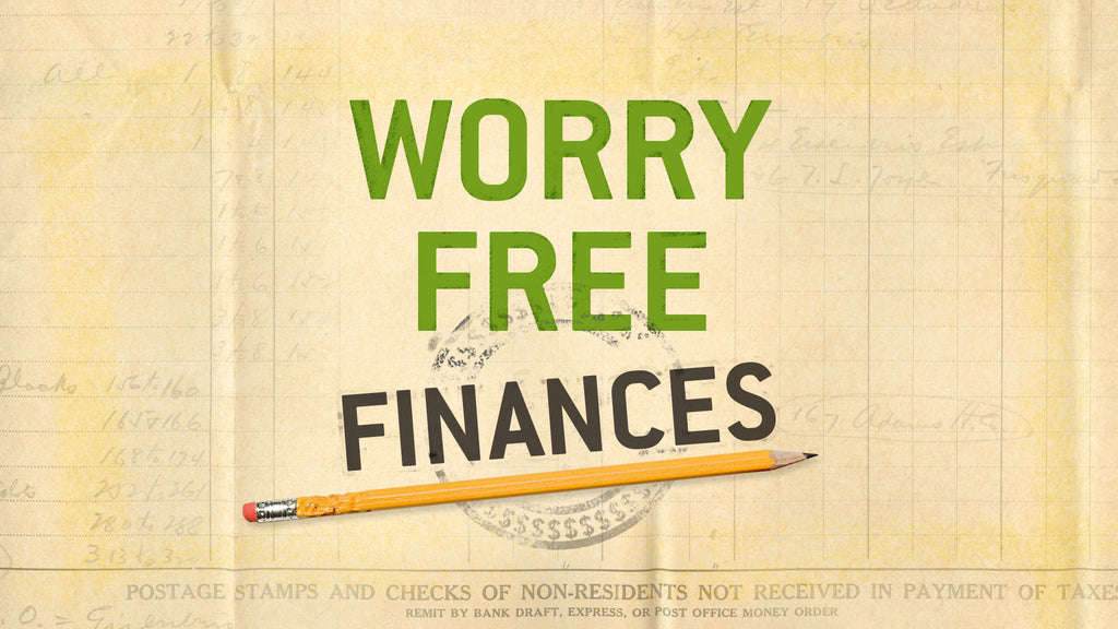 Worry Free Small Group Guide