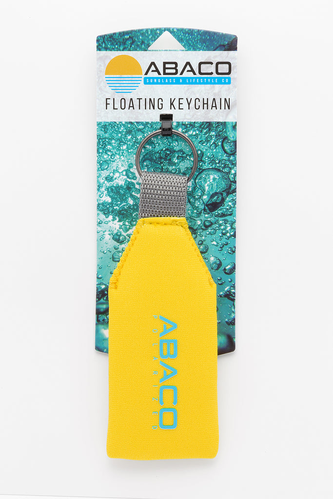 Neoprene Floating Keychain