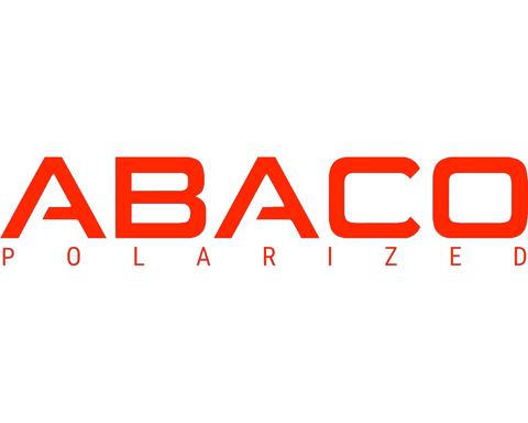 Abaco Polarized Logo Decal Red