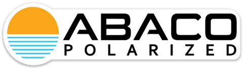 Abaco Polarized Logo Sticker with Sun
